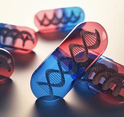 Κάψουλες φαρμάκων που περιέχουν μέσα το γενετικό κώδικα dna. Θέμα: η εξατομίκευση της φαρμακοθεραπείας.